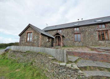Thumbnail 3 bed barn conversion to rent in Woolley, Bude