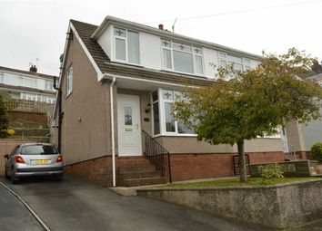 Thumbnail 3 bed semi-detached house for sale in Woodcote, Killay, Swansea