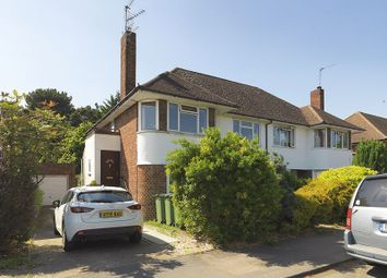 Thumbnail 2 bedroom flat for sale in Hampton Court Way, Thames Ditton