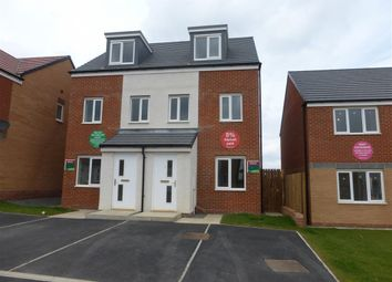 Thumbnail 3 bed semi-detached house to rent in Celandine Gardens, Hartlepool
