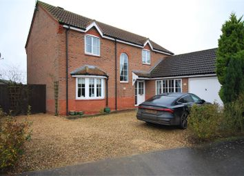 Thumbnail 4 bed detached house for sale in Casswell Drive, Quadring, Spalding