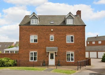 Thumbnail 5 bedroom detached house for sale in Newbold Close, Lichfield