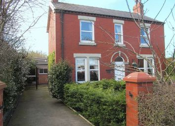 Thumbnail 3 bed detached house for sale in Station Road, Little Hoole, Longton.