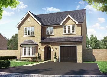 Thumbnail 4 bed detached house for sale in Buckden Road, Brampton, Huntingdon