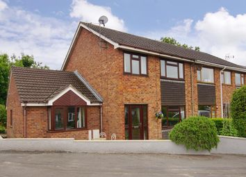 Thumbnail 4 bedroom semi-detached house for sale in Weavers Close, Kingswood, Gloucestershire