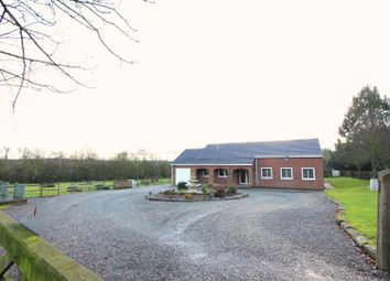 Thumbnail 4 bedroom detached bungalow for sale in Hall Lane, Donisthorpe