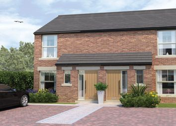 Thumbnail 2 bedroom terraced house for sale in Holly Grove, Thorpe Willoughby, Selby
