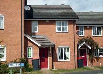 Thumbnail 3 bed terraced house to rent in Port Way, Madeley, Madeley