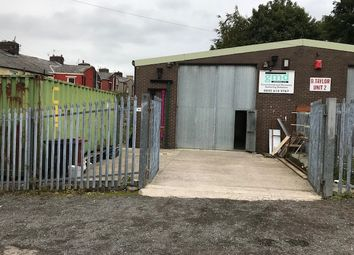 Thumbnail Industrial for sale in Unit 1, Cross Fold, Blackburn
