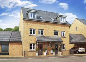 "Thumbnail 3 bedroom semi-detached house for sale in ""Padstow"" at Priorswood, Taunton"