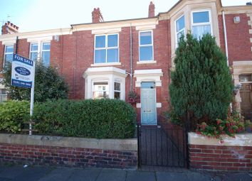 Thumbnail 4 bed terraced house for sale in Beach Avenue, Whitley Bay