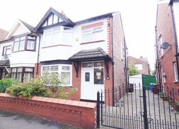 3 bed semi-detached house for sale in Cromwell Avenue, Manchester M16