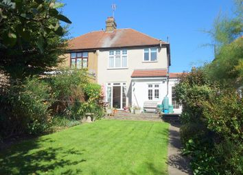 Thumbnail 4 bed semi-detached house for sale in Hillside Crescent, Enfield
