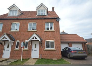 Thumbnail 3 bed semi-detached house for sale in Peregrine Mews, Cringleford, Norwich