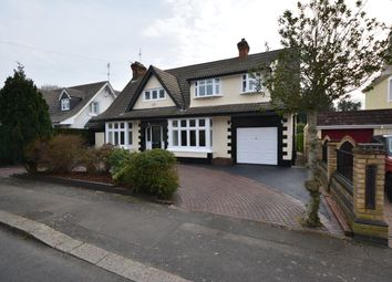 Thumbnail 4 bed detached house for sale in Curtis Road, Emerson Park, Hornchurch