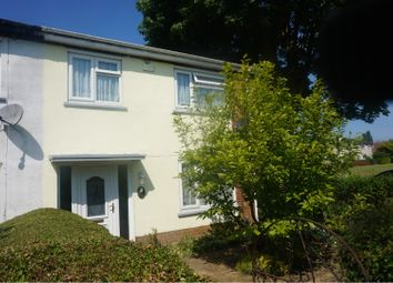 Thumbnail 3 bed end terrace house for sale in Burns Road, Wellingborough
