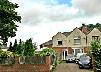 Thumbnail 4 bed semi-detached house for sale in Bury Old Road, Prestwich, Manchester