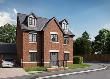 Thumbnail 4 bed detached house for sale in Copper Beeches, Killay, Swansea