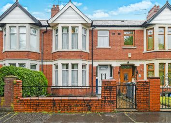 Thumbnail 3 bed terraced house for sale in Taff Embankment, Cardiff