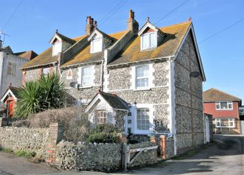 Thumbnail 3 bed end terrace house for sale in Nevill Road, Rottingdean, Brighton