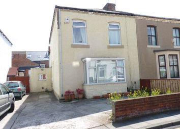 Thumbnail 4 bed semi-detached house for sale in Percy Road, Whitley Bay