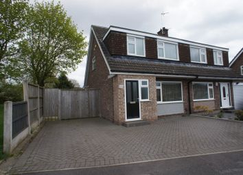 Thumbnail 3 bed semi-detached house to rent in Ladybank Road, Mickleover, Derby