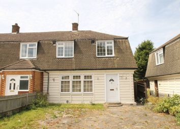 Thumbnail 3 bed semi-detached house to rent in Blackford Road, Watford