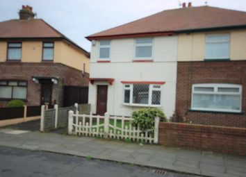 Thumbnail 3 bed semi-detached house to rent in Kingsmede, Blackpool