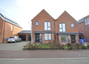 Thumbnail 3 bed semi-detached house to rent in Prince William Drive, Derby
