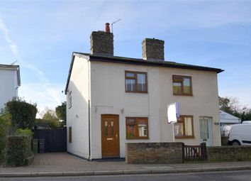Thumbnail 2 bed semi-detached house for sale in Station Cottages, Station Road, Kelvedon