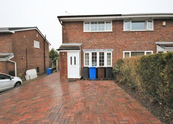 Thumbnail 2 bed semi-detached house for sale in Cloughwood Crescent, Shevington, Wigan