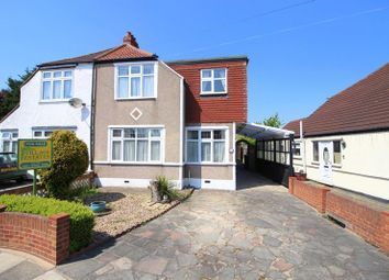 Thumbnail 4 bed semi-detached house for sale in Valliers Wood Road, Sidcup