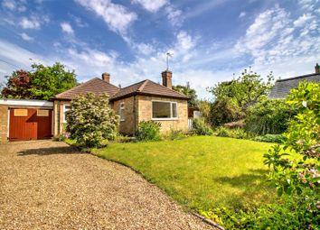 Thumbnail 2 bedroom bungalow for sale in North Fen Road, Glinton, Peterborough