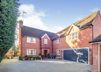 Thumbnail 5 bed detached house for sale in Gloster Drive, Kenilworth