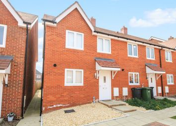 Thumbnail 2 bed end terrace house for sale in Cleverley Rise, Bursledon, Southampton