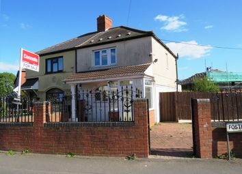 Thumbnail 3 bedroom semi-detached house for sale in Foster Road, Wolverhampton
