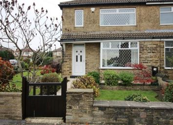 Thumbnail 3 bed semi-detached house for sale in Moorland Drive, Pudsey