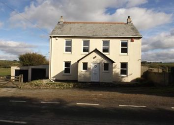 Thumbnail 5 bed detached house for sale in Mitchell, Newquay, Cornwall