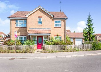 Thumbnail 4 bed detached house for sale in Oxfield Drive, Gorefield, Wisbech