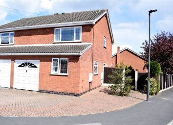 Thumbnail 3 bed semi-detached house for sale in Boatmans Close, Ilkeston, Derbyshire