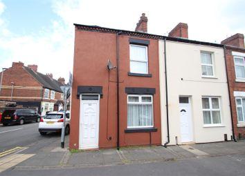 Thumbnail 2 bedroom terraced house for sale in Corporation Street, Stoke, Stoke-On-Trent
