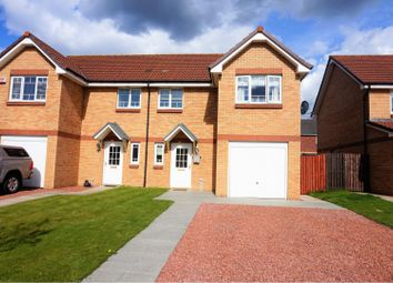 Thumbnail 3 bed semi-detached house for sale in Croft Walk, Glasgow