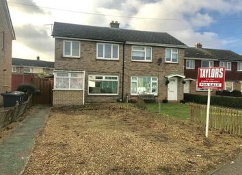 Thumbnail 2 bed semi-detached house for sale in Duck Lane, Cambridgeshire, St. Neots