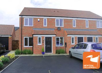 Thumbnail 2 bedroom town house for sale in Skylark Way, Clipstone Village, Mansfield