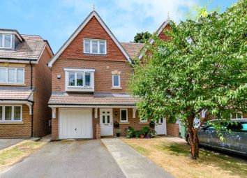 Thumbnail 3 bed semi-detached house to rent in Glade Mews, Guildford