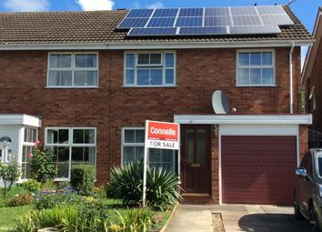 Thumbnail 3 bed semi-detached house for sale in Chesford Grove, Stratford-Upon-Avon