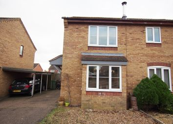 Thumbnail 2 bed semi-detached house for sale in Sawmill Close, Wymondham
