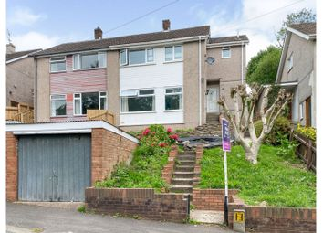 Thumbnail 4 bed semi-detached house for sale in Rosemont Avenue, Risca