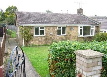 Thumbnail 3 bed bungalow to rent in Spinney Road, Ketton, Peterborough