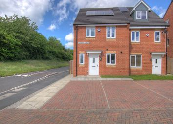 Thumbnail 3 bed semi-detached house for sale in 1 Elmont Close, Greenvale Avenue, Newcastle Upon Tyne